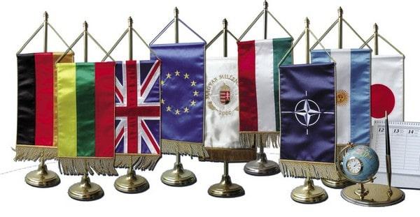 asztali zászló készítés
