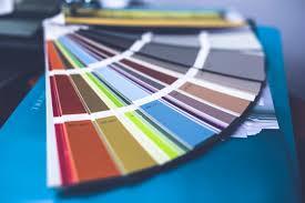 A falfesték színe